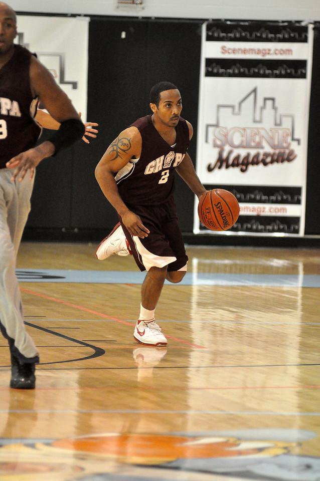 Matt Turner brings the ball up the court. (7/18/2010)