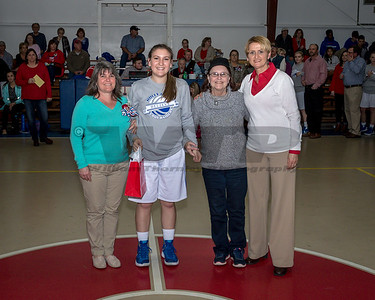 HHA BB Senior night 2-2-18