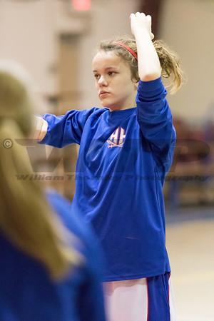 HHA vs THA JV Girls  Bsktball 12-12-16
