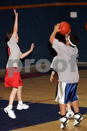Hawks Vs Clippers, HCS Youth BBall 012205