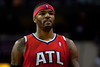 Mar 9, 2012; Auburn Hills, MI, USA; Atlanta Hawks power forward Josh Smith (5) during the fourth quarter against the Detroit Pistons at The Palace. Mandatory Credit: Tim Fuller-US PRESSWIRE