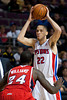 Mar 9, 2012; Auburn Hills, MI, USA; Detroit Pistons small forward Tayshaun Prince (22) is guarded by Atlanta Hawks small forward Marvin Williams (24) during the second half at The Palace. Mandatory Credit: Tim Fuller-US PRESSWIRE