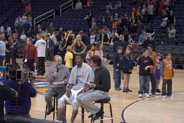 Heat vs Suns - 2005-01-11