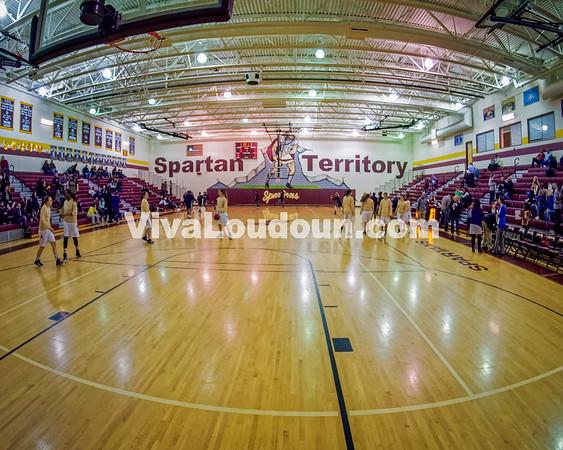 Girls Varsity Basketball: THS @ Broad Run 2.6.15 (Bill Corso)