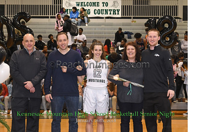 KMHS Senior Night_Burns
