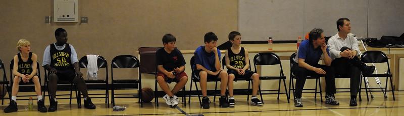 Hillview-Bell vs. Hillview-Boyle-Reardon  Baskeball Boys 7th Grade