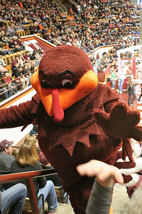 High five from Hokie Bird!