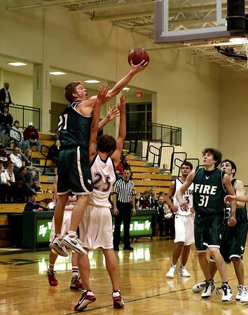 Holy Family HS Boys Varsity Basketball vs Triton HS (March 5, 2009)