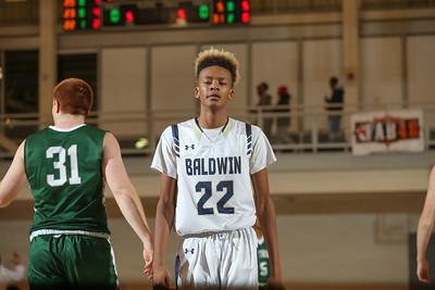 Holy Trinity vs Baldwin Boys Basketball - Gary Charles Hoop Classic-82