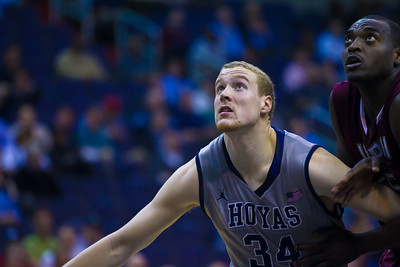 Hoyas' sophomore forward Nate Lubick set a career high with 14 rebounds