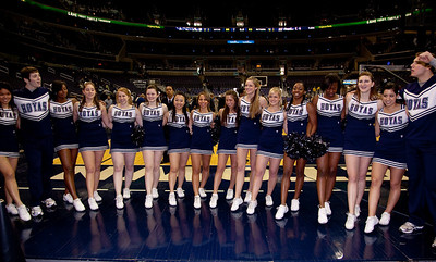 2010 Hoyas cheerleading squad