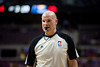 Dec 15, 2012; Auburn Hills, MI, USA; NBA referee Gary Zielinski (59) during the first quarter between the Detroit Pistons and the Indiana Pacers at The Palace. Mandatory Credit: Tim Fuller-USA TODAY Sports