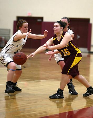 Irondale HS Girls Basketball vs St Francis HS (Jan 27, 20110)