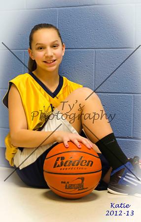 Katie Lehman Basketball 2012-13