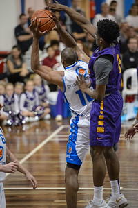 Erron Maxey - LSU Tigers Basketball (featuring Australian Ben Simmons ) vs South East Queensland All Stars, Auchenflower Stadium, Brisbane, Queensland, Australia; Tuesday 18 August 2015. Photos by Des Thureson - http://disci.smugmug.com
