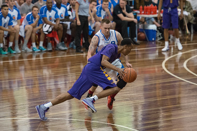 Jeremy Kendle - LSU Tigers Basketball (featuring Australian Ben Simmons ) vs South East Queensland All Stars, Auchenflower Stadium, Brisbane, Queensland, Australia; Tuesday 18 August 2015. Photos by Des Thureson - http://disci.smugmug.com