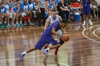 Jeremy Kendle - LSU Tigers Basketball (featuring Australian Ben Simmons ) vs South East Queensland All Stars, Auchenflower Stadium, Brisbane, Queensland, Australia; Tuesday 18 August 2015. Photos by Des Thureson - http://disci.smugmug.com