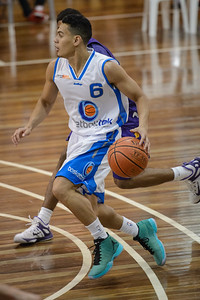 Jalen Manu - LSU Tigers Basketball (featuring Australian Ben Simmons ) vs South East Queensland All Stars, Auchenflower Stadium, Brisbane, Queensland, Australia; Tuesday 18 August 2015. Photos by Des Thureson - http://disci.smugmug.com