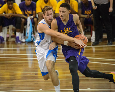 LSU Tigers Basketball (featuring Australian Ben Simmons) vs South East Queensland All Stars - Portfolio Gallery