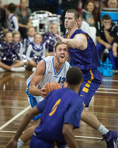 Mitchell Young, Darcy Malone - LSU Tigers Basketball (featuring Australian Ben Simmons ) vs South East Queensland All Stars, Auchenflower Stadium, Brisbane, Queensland, Australia; Tuesday 18 August 2015. Photos by Des Thureson - http://disci.smugmug.com