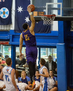 Ben Simmons - LSU Tigers Basketball (featuring Australian Ben Simmons ) vs South East Queensland All Stars, Auchenflower Stadium, Brisbane, Queensland, Australia; Tuesday 18 August 2015. Photos by Des Thureson - http://disci.smugmug.com