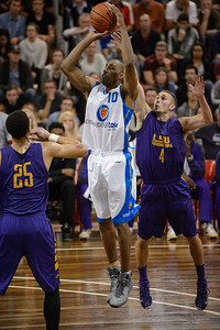 Erron Maxey, Keith Hornsby - LSU Tigers Basketball (featuring Australian Ben Simmons ) vs South East Queensland All Stars, Auchenflower Stadium, Brisbane, Queensland, Australia; Tuesday 18 August 2015. Photos by Des Thureson - http://disci.smugmug.com