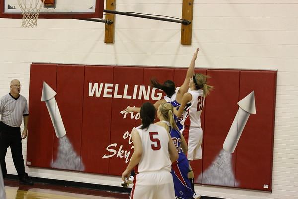 Lady Rockets Basketball 2012