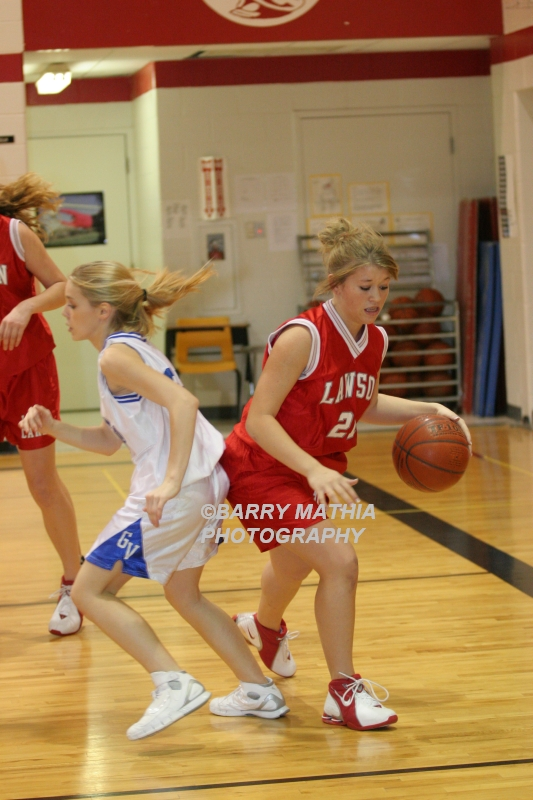 Lawson Vs Grain Valley Girls 9th BBall 012506 027