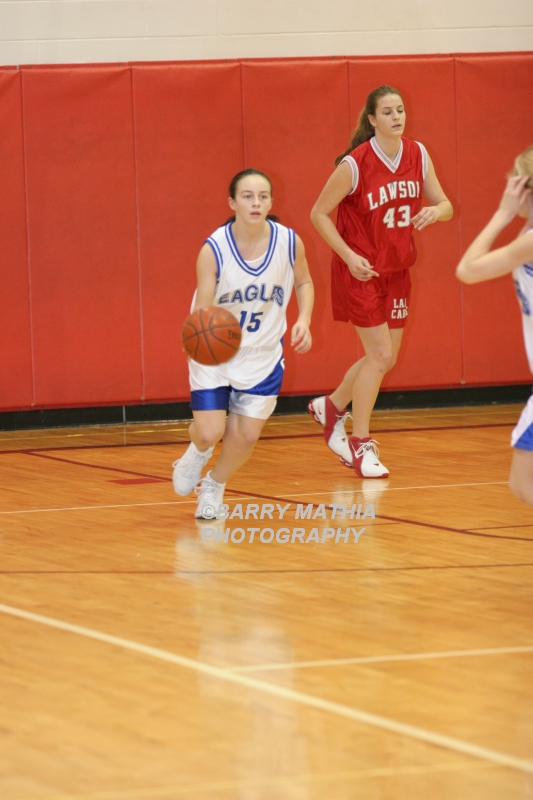 Lawson Vs Grain Valley Girls 9th BBall 012506 024