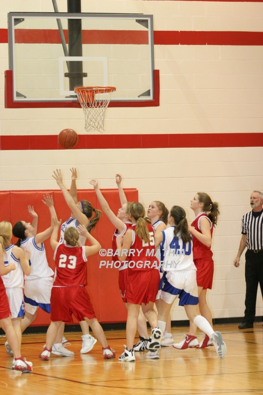 Lawson Vs Grain Valley Girls 9th BBall 012506 048