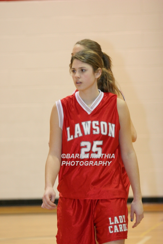 Lawson Vs Grain Valley Girls 9th BBall 012506 006