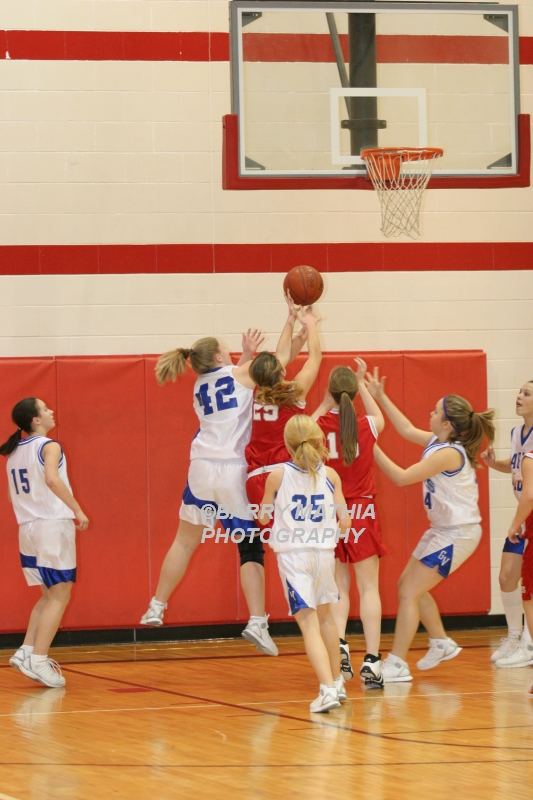 Lawson Vs Grain Valley Girls 9th BBall 012506 044