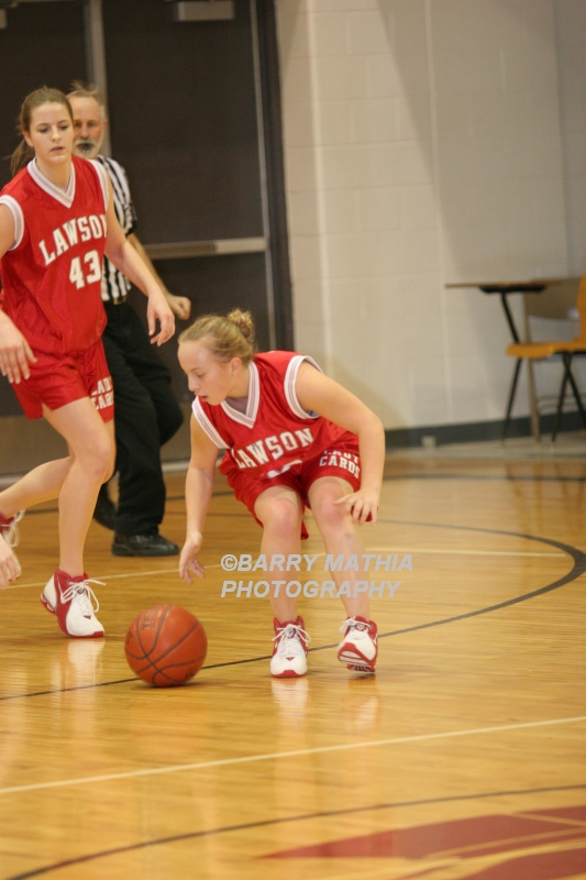 Lawson Vs Grain Valley Girls 9th BBall 012506 046