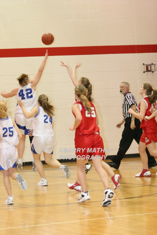 Lawson Vs Grain Valley Girls 9th BBall 012506 047