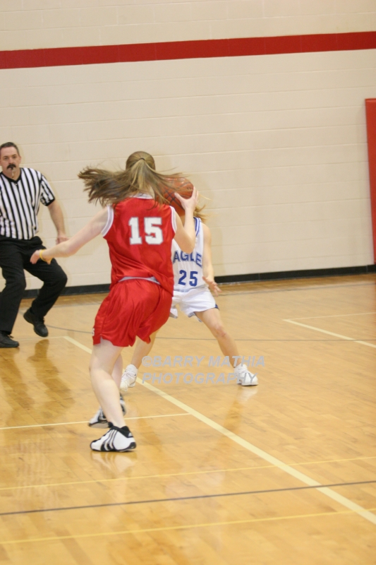 Lawson Vs Grain Valley Girls 9th BBall 012506 042