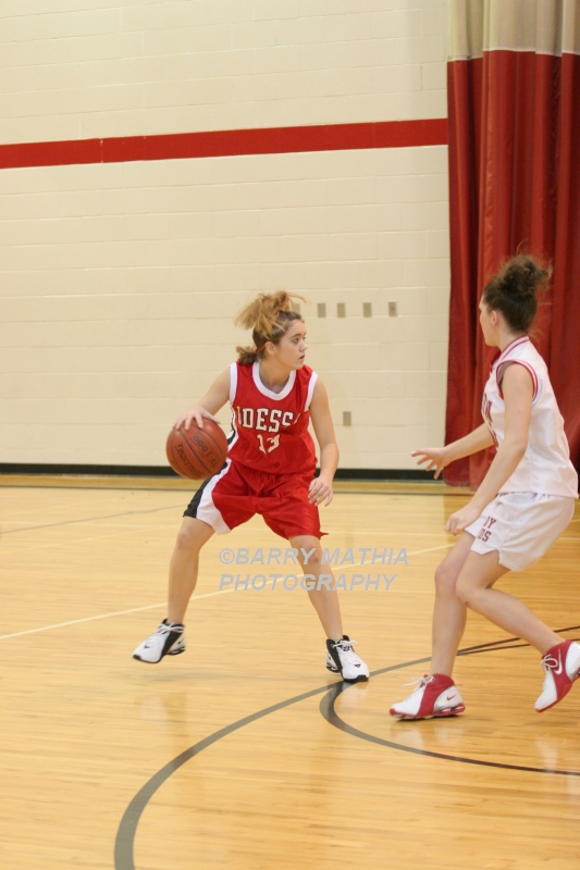 Lawson Vs Odessa Girls 9th BBall 012706 007
