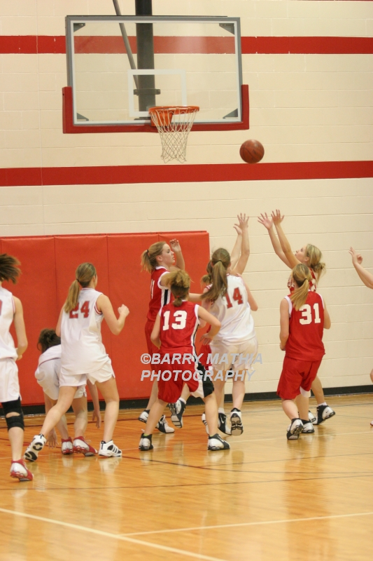 Lawson Vs Odessa Girls 9th BBall 012706 024