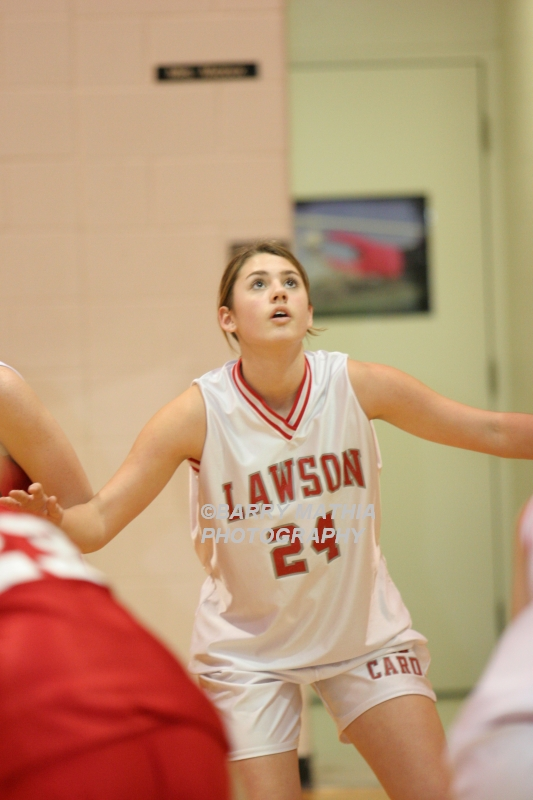 Lawson Vs Odessa Girls 9th BBall 012706 018
