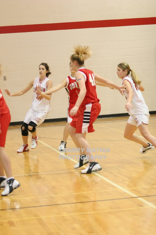 Lawson Vs Odessa Girls 9th BBall 012706 031