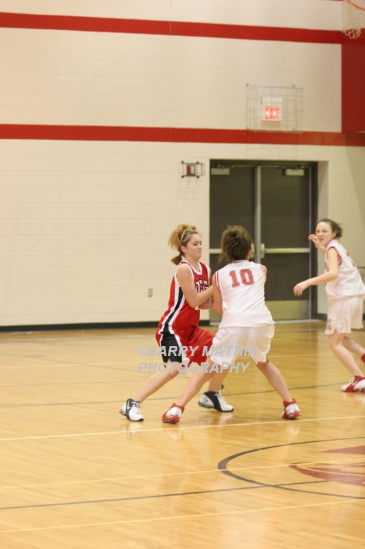 Lawson Vs Odessa Girls 9th BBall 012706 032
