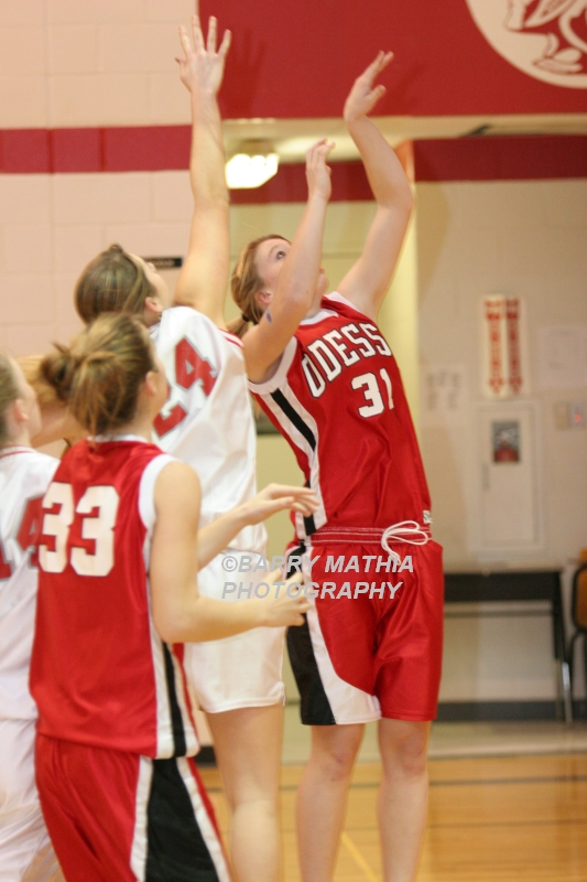 Lawson Vs Odessa Girls 9th BBall 012706 009