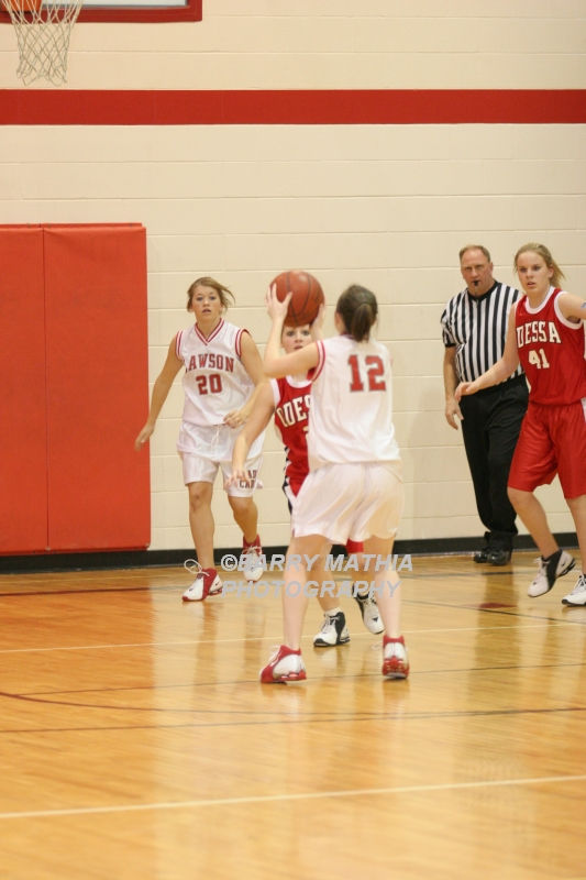 Lawson Vs Odessa Girls 9th BBall 012706 034