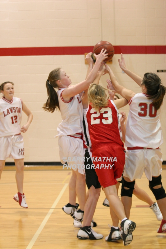 Lawson Vs Odessa Girls 9th BBall 012706 020