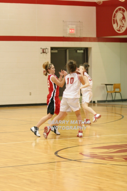Lawson Vs Odessa Girls 9th BBall 012706 033