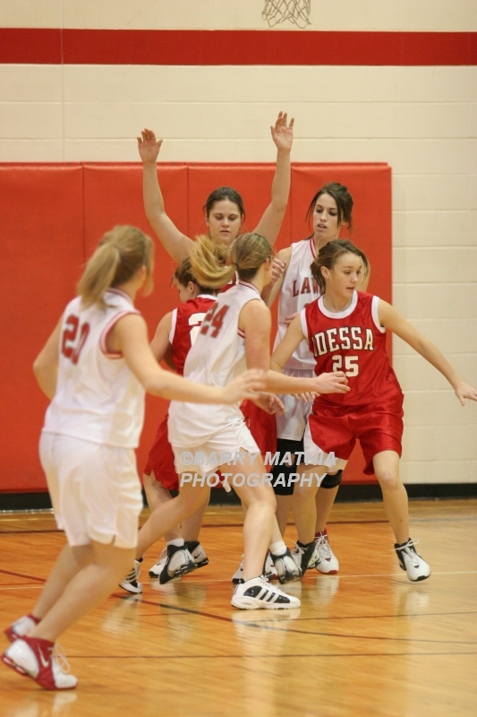 Lawson Vs Odessa Girls 9th BBall 012706 049