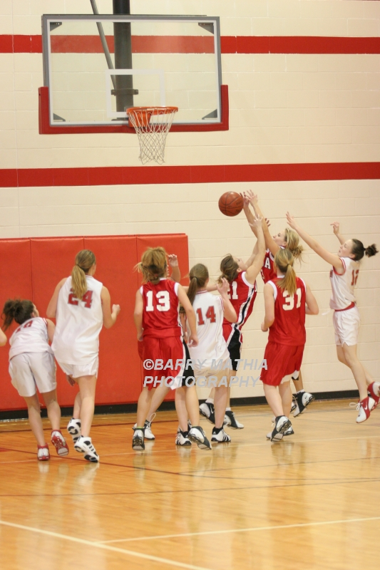 Lawson Vs Odessa Girls 9th BBall 012706 025