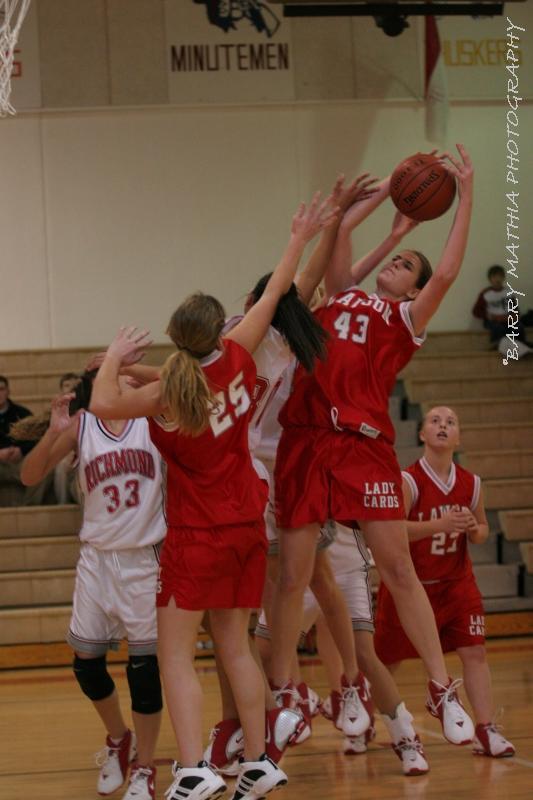 Lawson vs Richmond BBall 9th grade 030