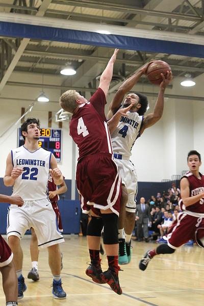Leominster vs Fitchburg Varsity Basketball -January 4 2016