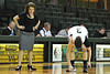 Nov 17, 2012; Detroit, MI, USA; Wayne State Warriors head coach Carrie Lohr and guard Paige Sickmiller (3) during the game against the Lewis Flyers at the Matthaei Center. Credit: Tim Fuller-Wayne State Athletics