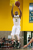 Nov 19, 2012; Detroit, MI, USA; Wayne State Warriors guard Cole Prophet (11) during the game against the Lewis Flyers at the Matthaei Center. Credit: Tim Fuller-Wayne State Athletics
